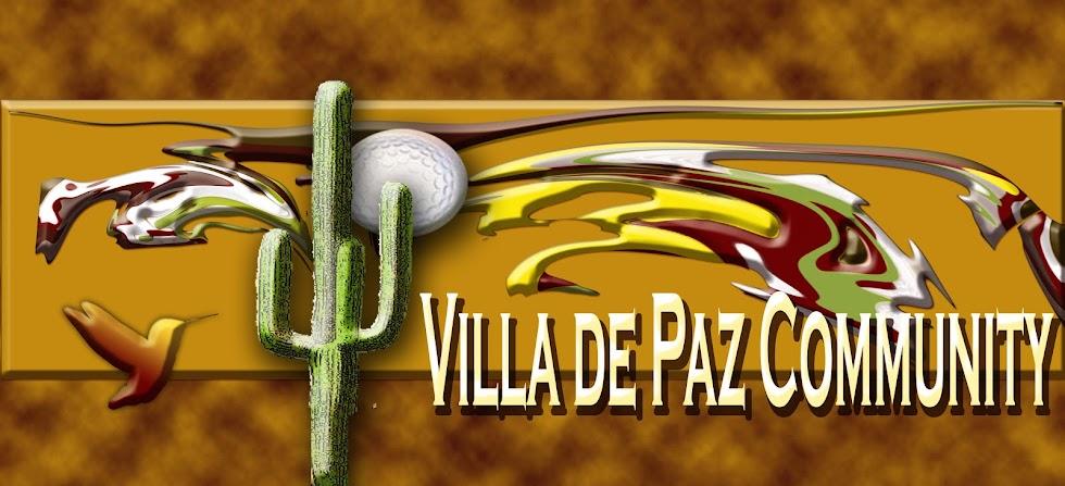 Villa De Paz Community