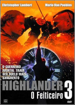 Download - Highlander 3 - O Feiticeiro - DVDRip Dual Áudio