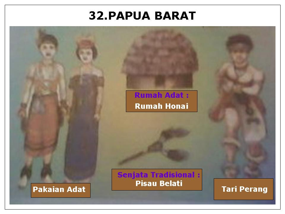 33 provinsi papua ibukota nya adalah jayapura tarian tradisional tari