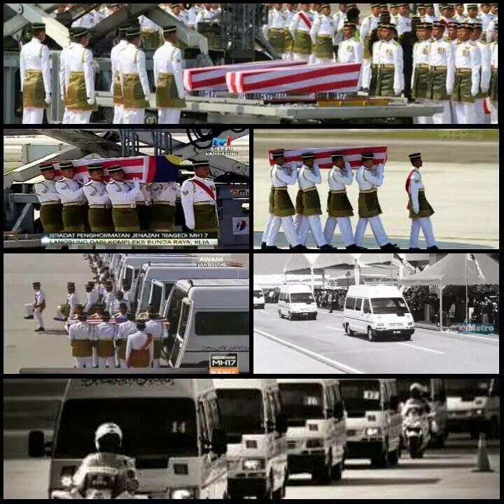 Salam Takziah Keluarga MH17 Al Fatihah MH17 MALAYSIABERKABUNG
