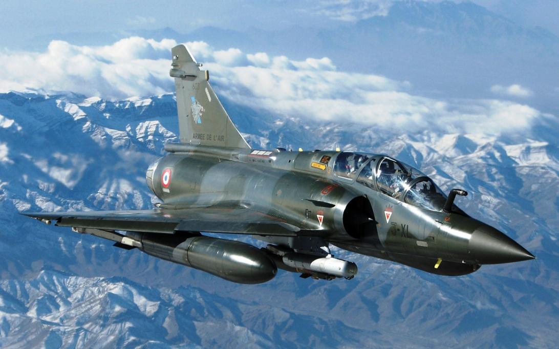 Mirage 2000 Jet Fighter Wallpaper 1