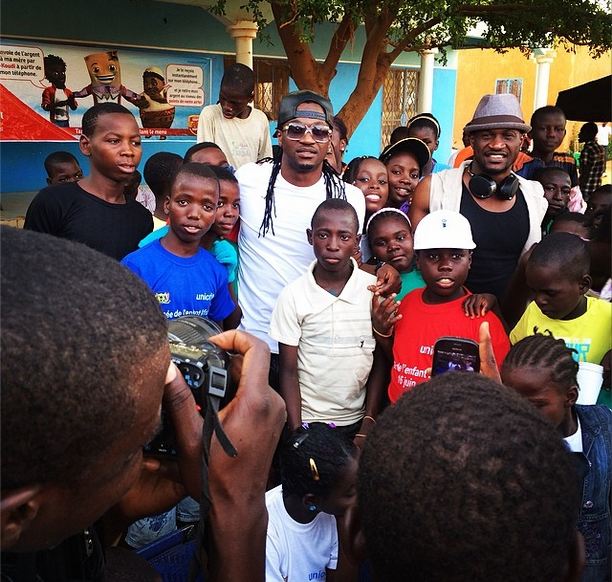 P-Square gives back to society in Niger Republic(Photos)5