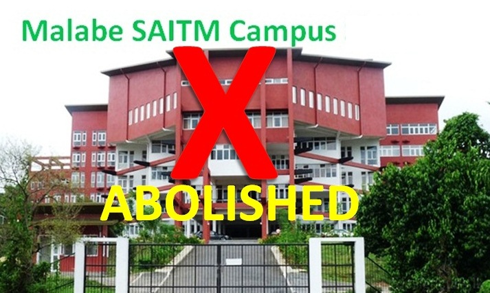 SAITM Campus Abolished