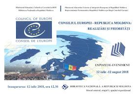 """Expoziția-eveniment """"Consiliul Europei ‒ Republica Moldova: realizări și priorități"""""""