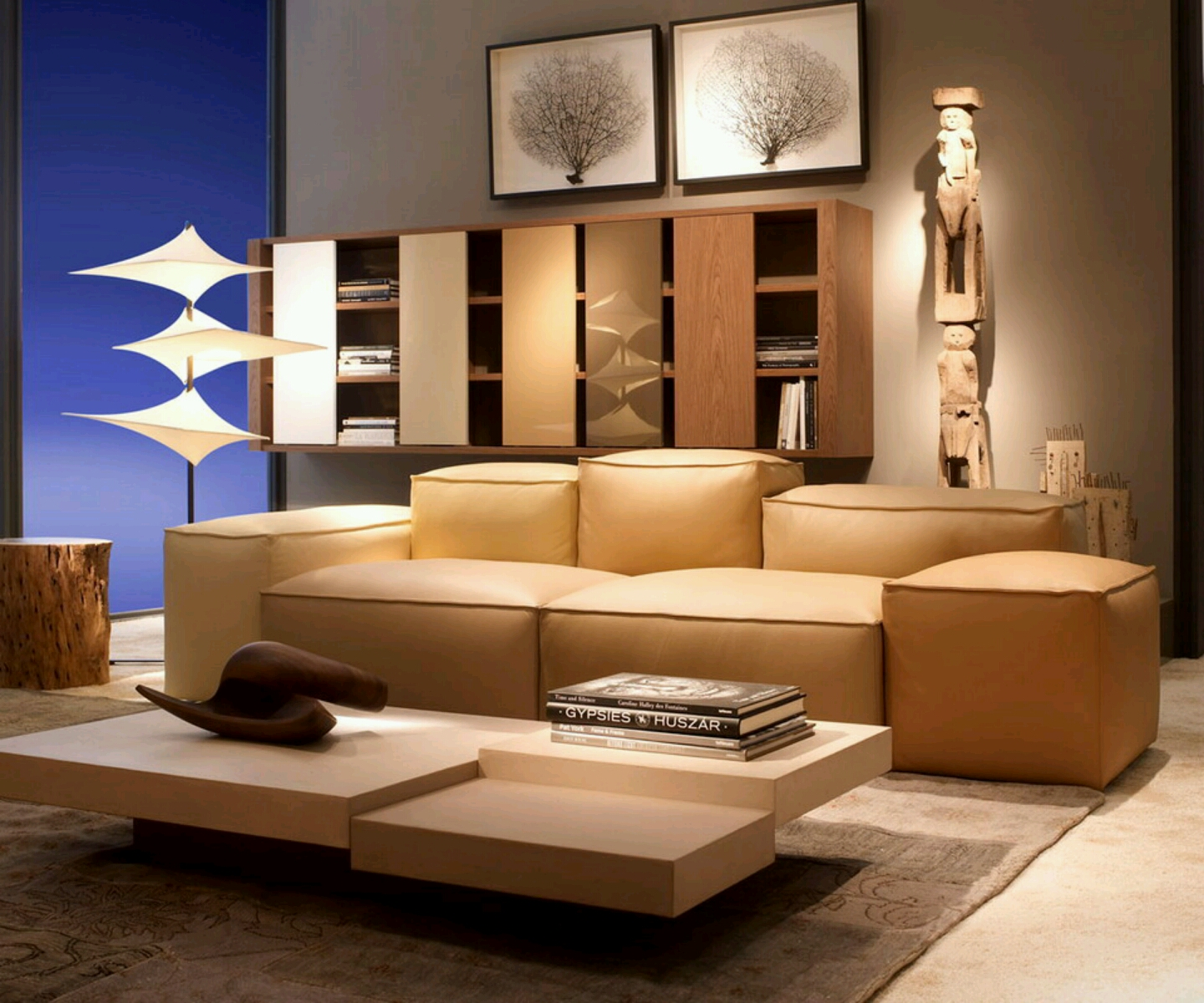 Beautiful modern sofa furniture designs an interior design - Modern contemporary interior design ...
