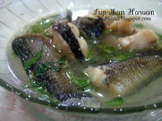 Sup Ikan Haruan