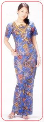 model+baju+batik+wanita+(2) contoh model baju batik terbaru dan perkembangannya,Model Baju Wanita Jadul
