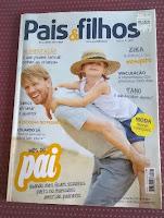 Estamos na Revista Pais & Filhos