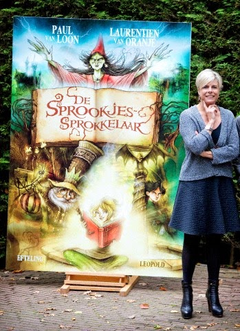 Dutch Countess Eloise visits theme park De Efteling after the presentation of the new fairy tail book of Princess Laurentien De Sprookjessprokkelaar in Kaatsheuvel, The Netherland