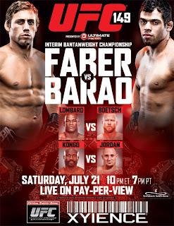 UFC 149: Faber vs. Barão