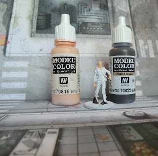 Zombicide zombie paint quickly good result walker easy how to paint blood 28mm
