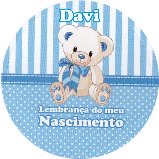 Adesivo Para Lembrancinha De Maternidade ~ Artes da Pata Adesivo Lembrança de Nascimento do Davi