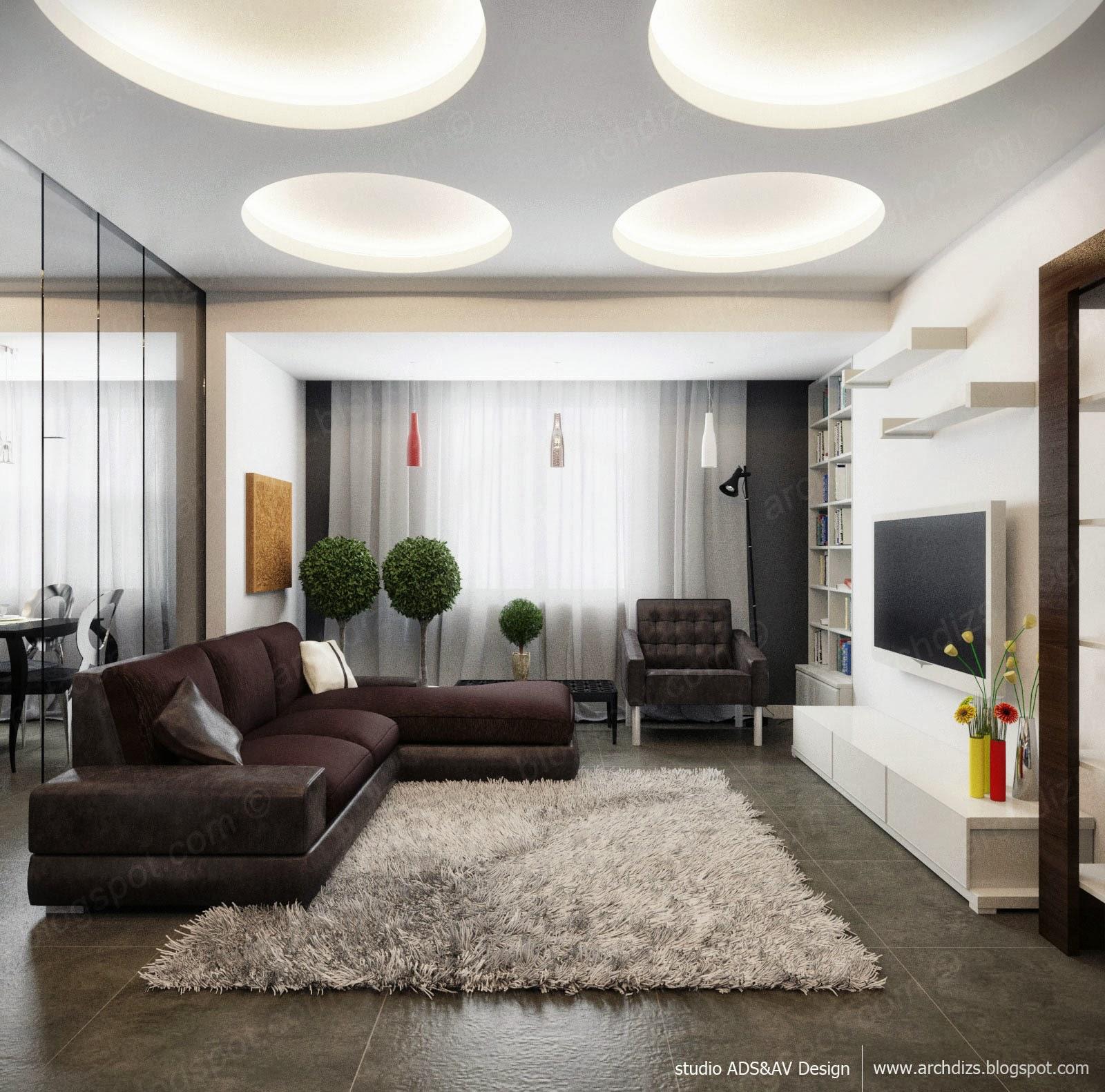 Фото. дизайн гостинной