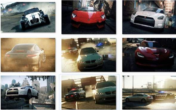 need for speed mostwanted 2012 games windows themes