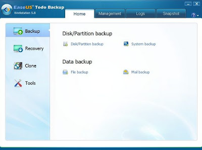 EaseUS Todo Backup Workstation 5.8 Free License Giveaway