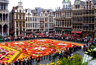 Grand Place en su muestra floral