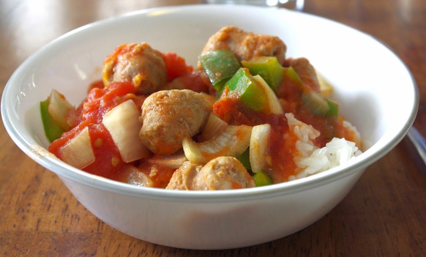 how to cook italian sausage and peppers