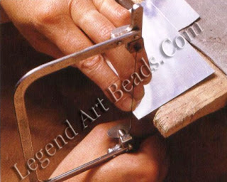 To make the first cut, use your finger as a guide at the side of the blade and move the saw gently up and down until it has a purchase on the metal.
