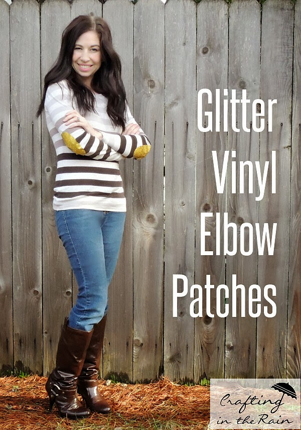 diy glitter elbow patches crafting in the rain. Black Bedroom Furniture Sets. Home Design Ideas