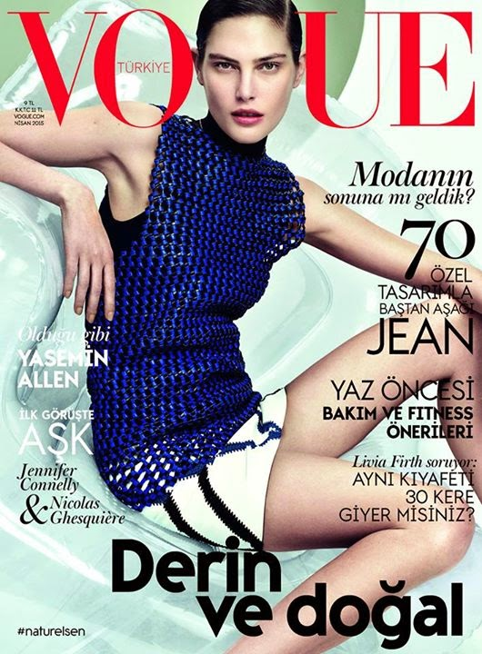 Fashion Model @ Catherine McNeil by David Slijper for Vogue Turkey, April 2015