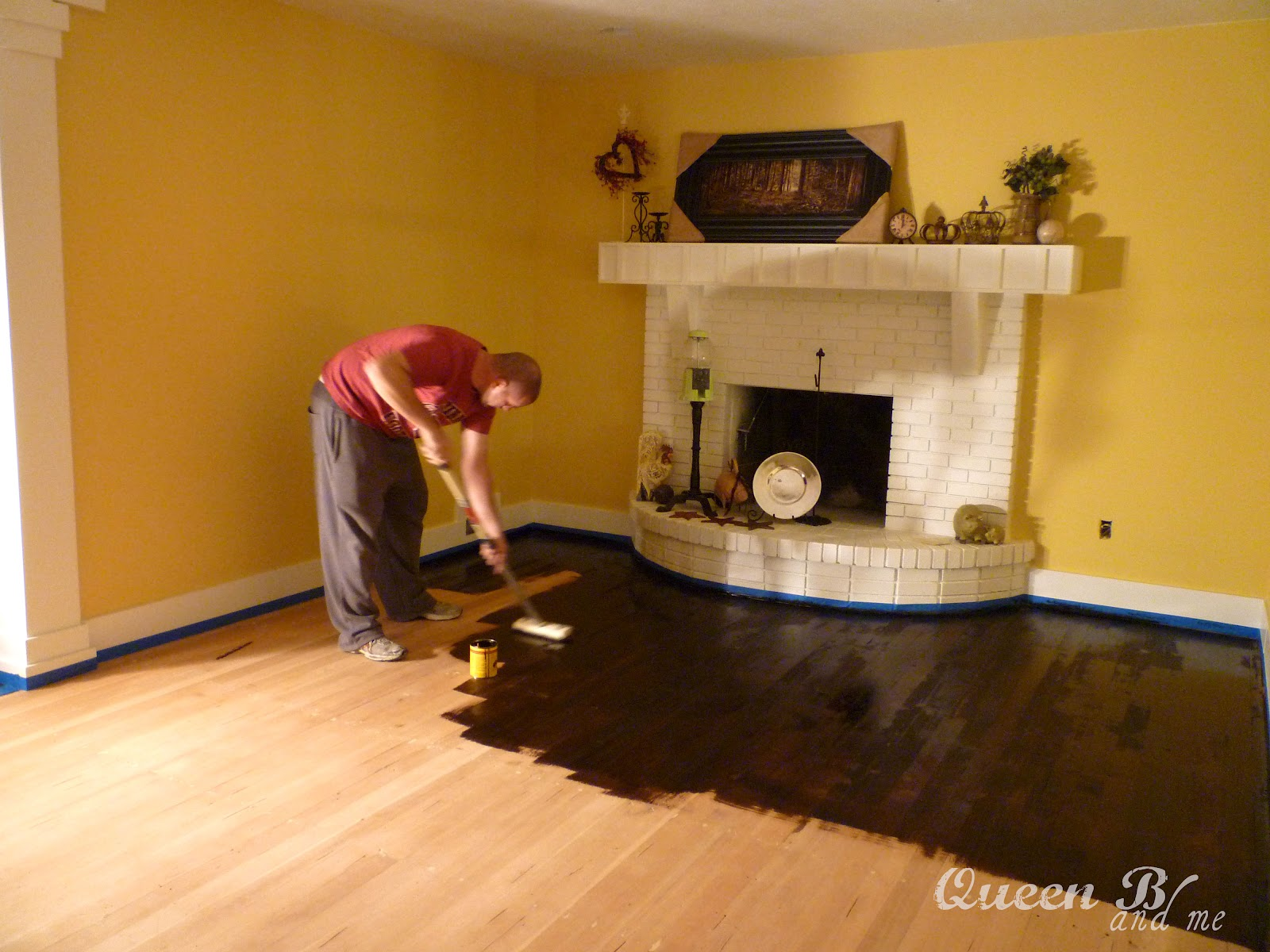 How To Refinish Hardwood Floors! They Look So Good!! Great Tips!