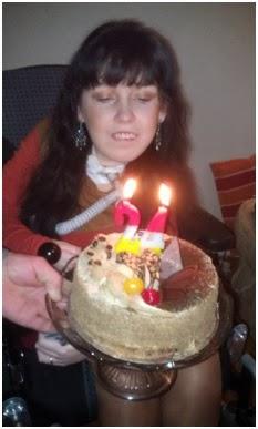 Urodziny + przyjaźń... w środku i na zewnątrz.