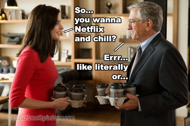The Intern 2015 movie meme