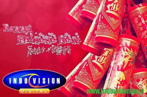 Promo khusus Imlek 2014 dari Indovision.