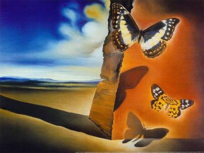 Meu di rio bem estranho as borboletas de salvador dali for Caracteristicas del vanguardismo