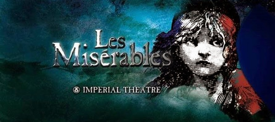 Les Miserables Broadway musical poster
