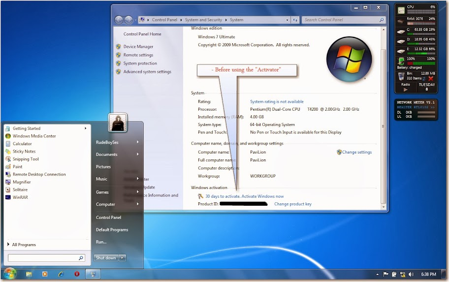 Windows 7 product key for Windows 07 product key