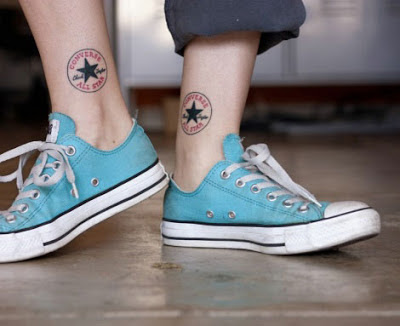Tatuaje converse all star