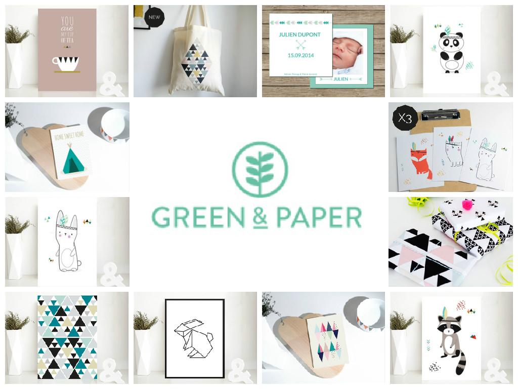 Green And Paper la vie ordinaire d'une bretonne: dans ma boite aux lettres : green
