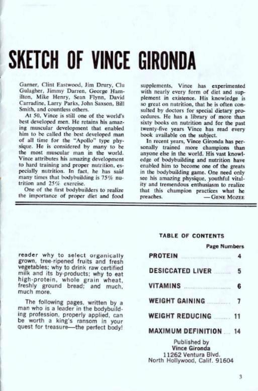 Vince girondas blueprint for the bodybuilder bodybuilding email thisblogthis malvernweather Gallery