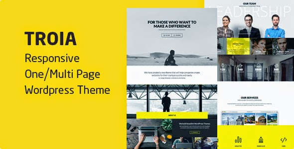 Troia - Responsive One/Multi Page Theme