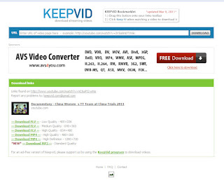 free download video dengan keepvid