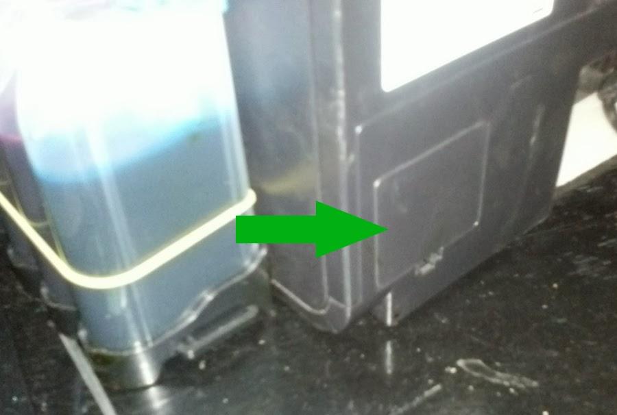 Epson Photo P50 вывод отработанных чернил