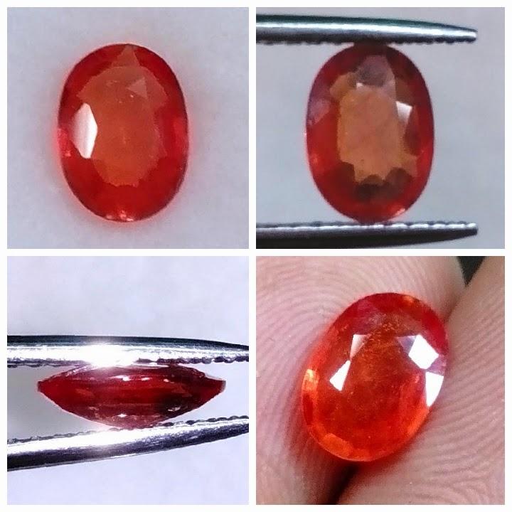 natural orange sapphire (TB0145) (Rp.350.000) nett