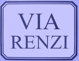 Via Renzi!