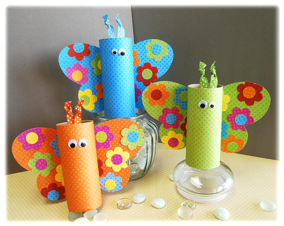 Crafts Using Toilet Paper Rolls