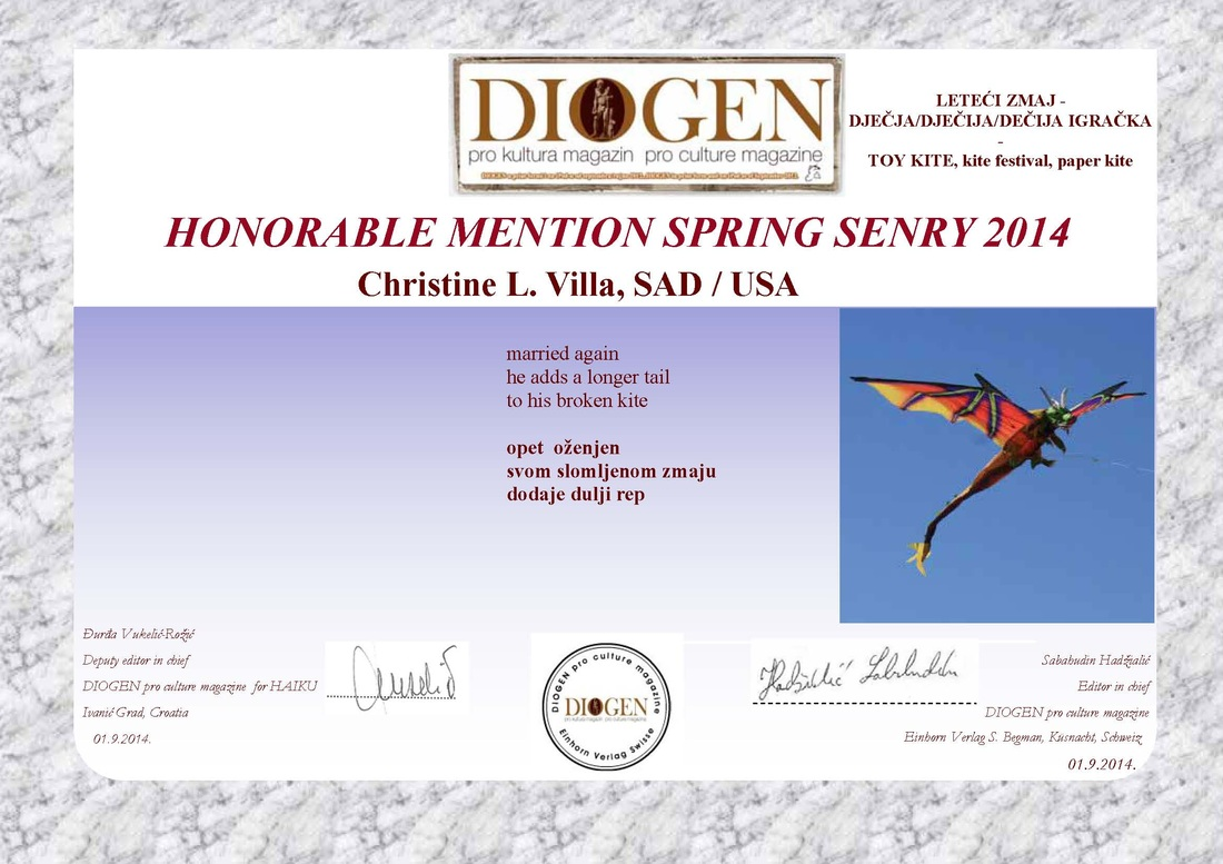 Honorable Mention, Diogen 2014