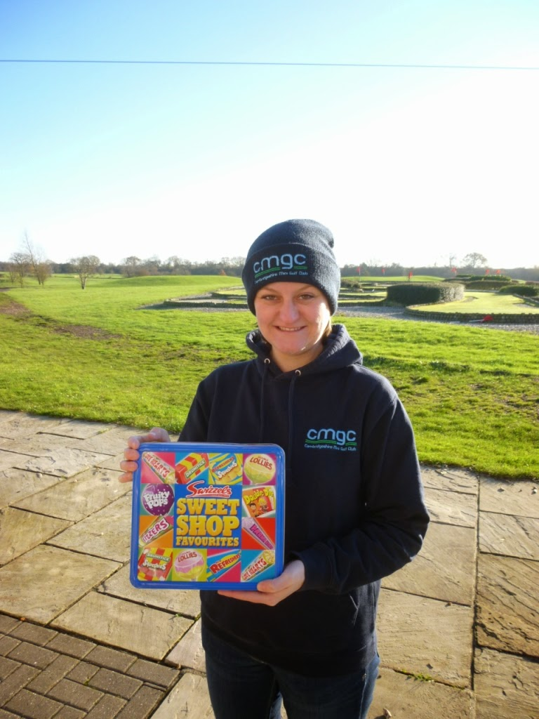 CEMGC Invitational Champion Emily Gottfried at the Dunton Hills Family Golf Centre in West Horndon, near Brentwood, Essex