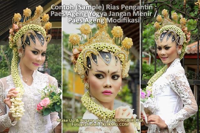 Rias Pengantin Paes Ageng Yogya Jangan Menir / Paes Ageng Modifikasi - Make Up & Busana oleh : Tunjungbiruwedding.ga - Foto oleh : KLIKMG Fotografer Jakarta