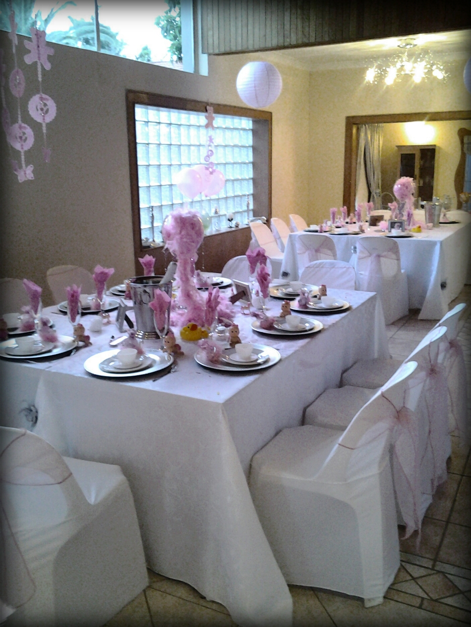 halaal catering for all functions baby shower setup and management
