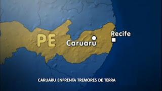 tremores de terra em caruaru