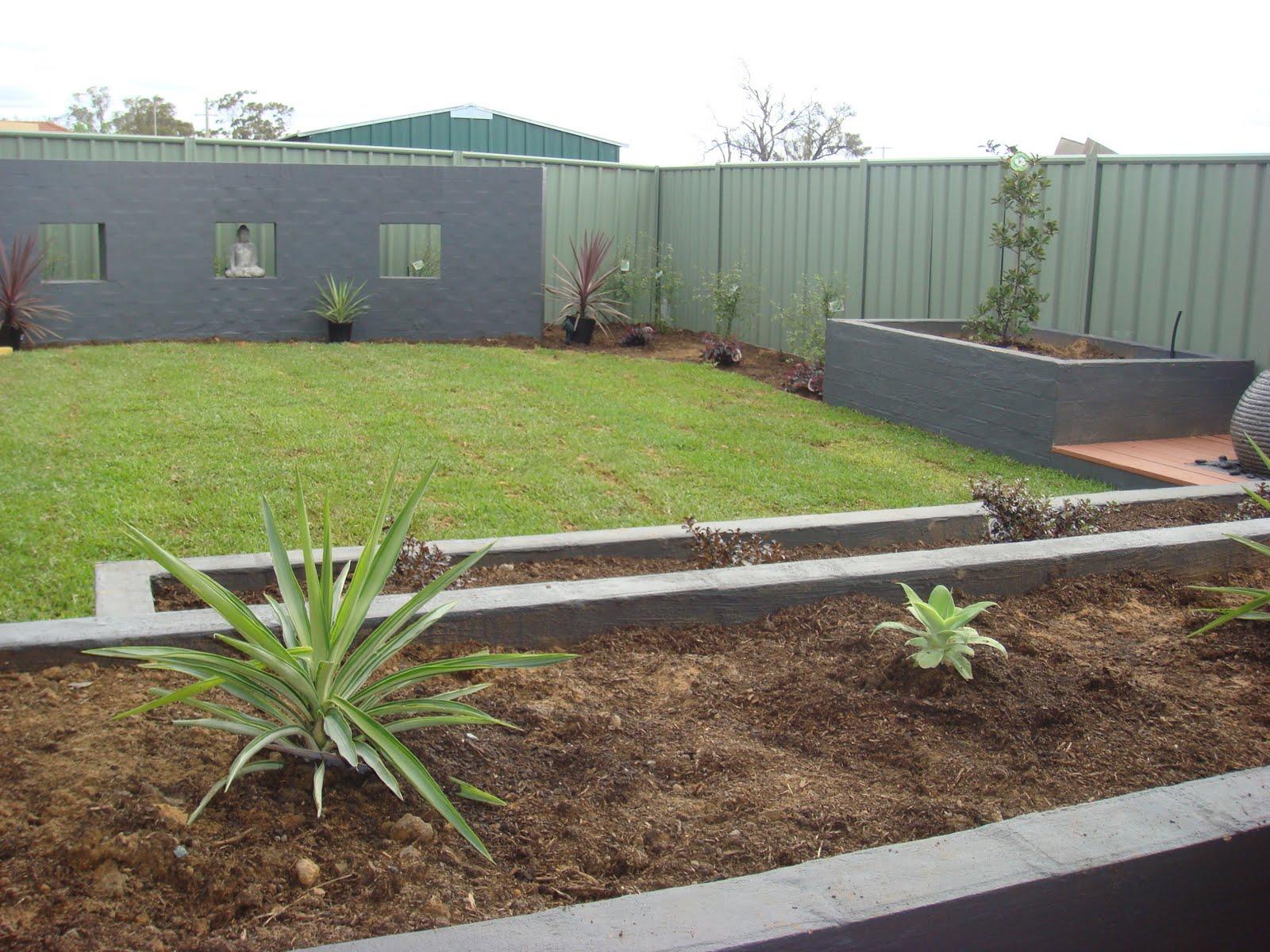 Eden Design A Simple Backyard Garden Echuca Victoria