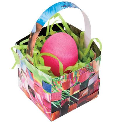 Кошничка за яйца от списание