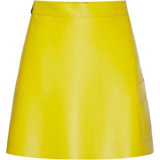 look amarelo saia reveillon