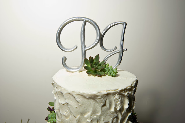Liberty Warehouse Wedding Cake Topper