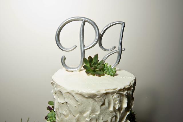 Liberty Warehouse Wedding Cake Topper